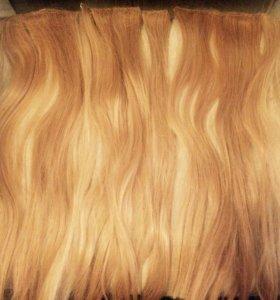 Волосы искусственные накладные( трессы)