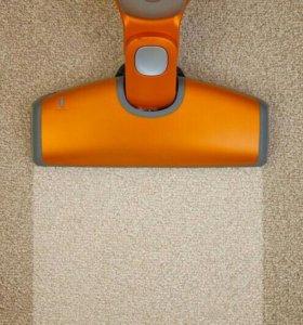 Профессиональная чистка ковров и мягкой мебели.