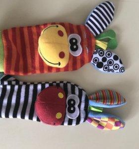 Носочки-игрушки
