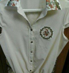 Продам новую рубашку р 44-46