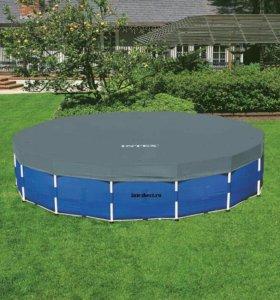 Каркасный бассейн 5м х 1м +аксесуары, INTEX