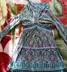 Платье - туника для беременной