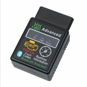 Автосканер ELM 327 New Bluetooth V. 2.1.