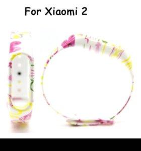 """Ремешок """"Kitty"""" для Xiaomi Mi Band 2"""