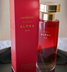 Парфюмерная вода Avon Alpha