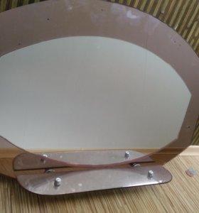 Зеркало+светильники