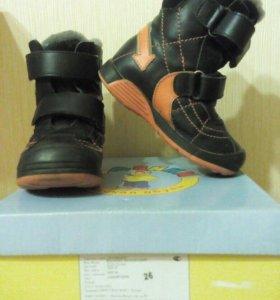 Зимние ботинки 26 размер
