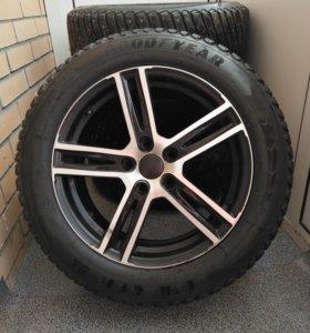 Комплект зимних колес Goodyear 225/55R17