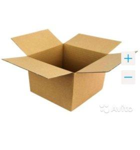 Коробки картонные, разные размеры