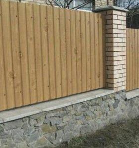 Профнастил (забор)