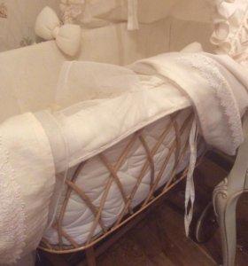 Итальянская детская кроватка