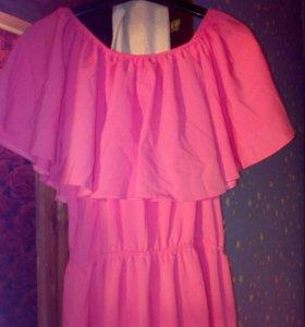 Платье в пол 46-52 размер