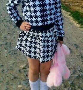 Комплект кофта и юбка