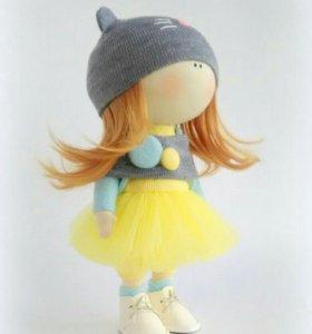 Интерьерная кукла. Текстильная кукла.