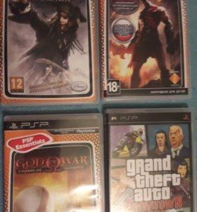 Продаю PSP с играми