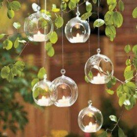 Подвесной стеклянный шар