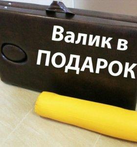 Косметологическая кушетка Складная +Валик