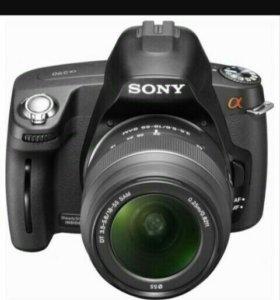 Sony Alpha 290 объектив 18-55