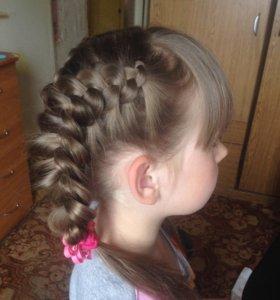 Плетение кос недорого