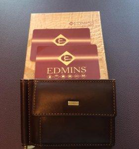 Зажим для денег новый Edmins