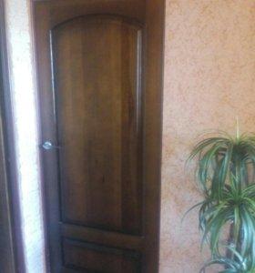 Двери из сосны 4 шт