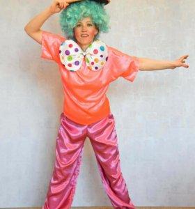 Прокат костюма клоуна