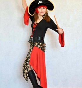 Прокат костюма пиратки