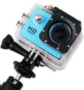 Экшен камера full HD + Аквабокс