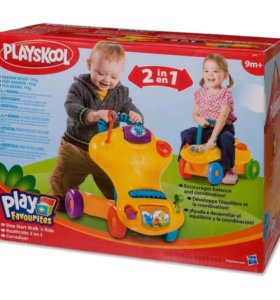 Ходунки-каталка Playskool от Hasbro.