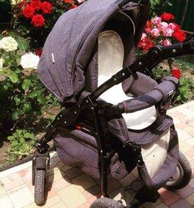 Продаю детскую коляску 3 в 1 Adamex