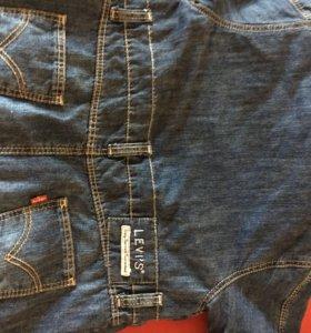 Левайс джинсовый комбинезон