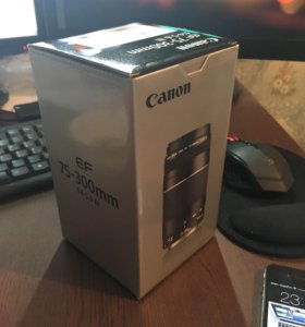 Новый объектив Canon EF 75-300 mm f/4-5.6 III