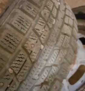 Шины зима бу 2шт 175/70 R13 Dunlop W-Ice 01 подбор