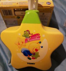 Детский светильник с музыкой