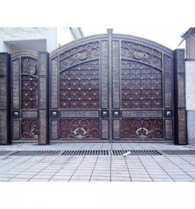 Кованные ворота и перилы