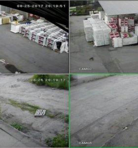 Замена камер видеонаблюдения