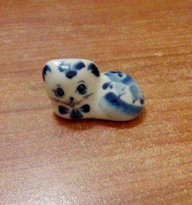 Гжель кот