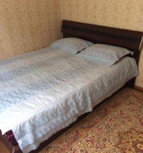 Кровать с матрасом 2-х спальная