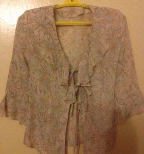 Блузка легкая