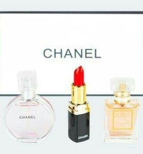 💣💥Подарочный набор Chanel 3в1🍒
