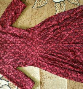 Платье -осень -зима