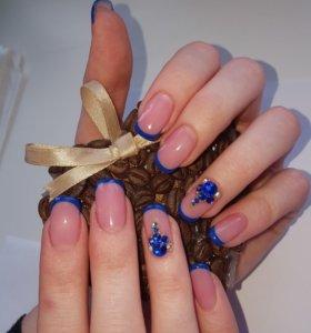 💅Наращивание ногтей и покрытие гель-лаком