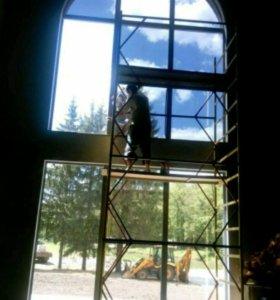 Тонировка окон и укрепление стекол Класс А1 А2 А3