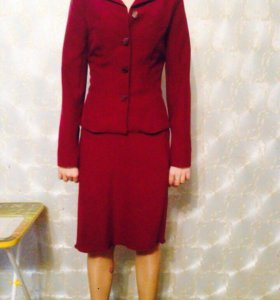 Костюм, юбка,пиджак, рубашка