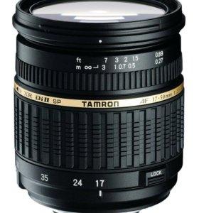 Объектив Tamron SP AF 17-50mm F/2,8 XR Di II Canon