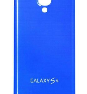 Задняя крышка на Samsung Galaxy S4 (синяя)