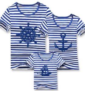 Семейные футболки новые
