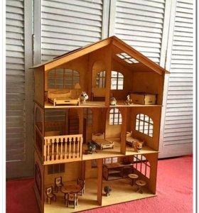 Прелестный кукольный домик