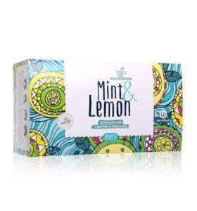 Чай лимон- мята