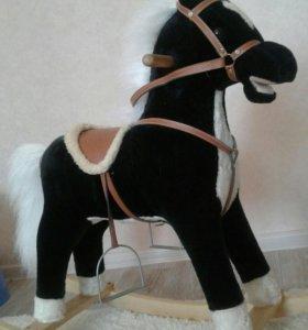 Лошадка качалка.